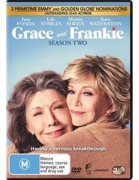 Grace and Frankie Season 2 on DVD