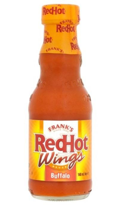 Frank's RedHot Original Buffalo Wings Sauce (148ml) image