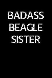 Badass Beagle Sister by Standard Booklets image