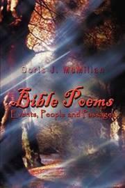 Bible Poems by Doris J. McMillan image