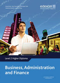 Higher Diploma in Business Administration and Finance by Edexcel image