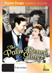 The Palm Beach Story on DVD
