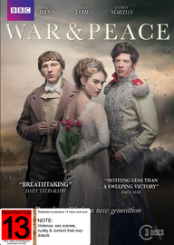 War And Peace - Season 1 on DVD