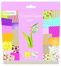 Origami Paper 200x200 - Bubbles