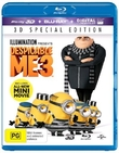 Despicable Me 3 on Blu-ray, 3D Blu-ray