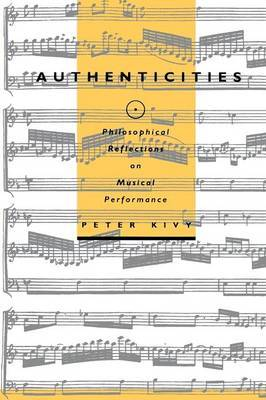 Authenticities by Peter Kivy image