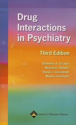 Drug Interactions in Psychiatry image