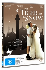 The Tiger And The Snow on DVD image