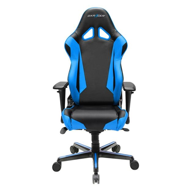 DXRacer Racing Series RV001 Gaming Chair (Black and Blue) for