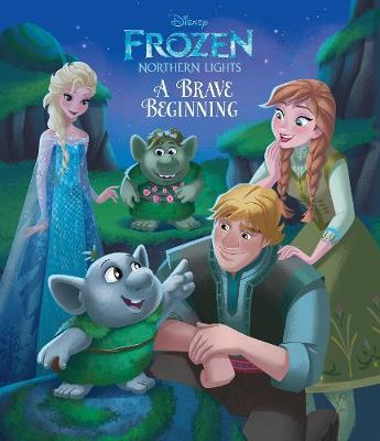 Disney Frozen Northern Lights A Brave Beginning by Suzanne Francis image
