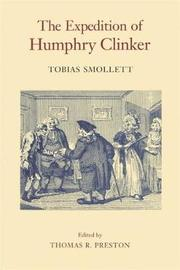 The Expedition of Humphry Clinker by Tobias Smollett