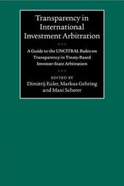 Transparency in International Investment Arbitration