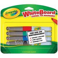 Crayola: Visi-Max - Dry Erase Markers (Chisel Tip)