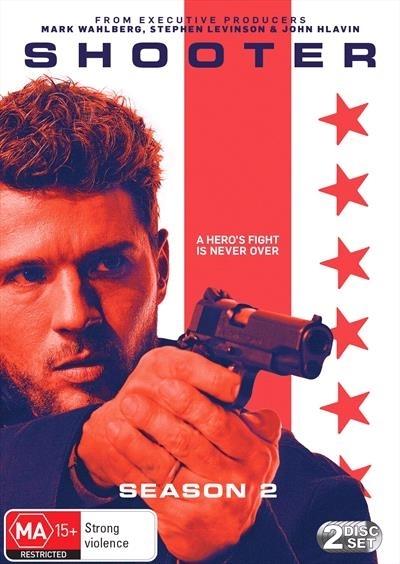 Shooter Season 2 on DVD
