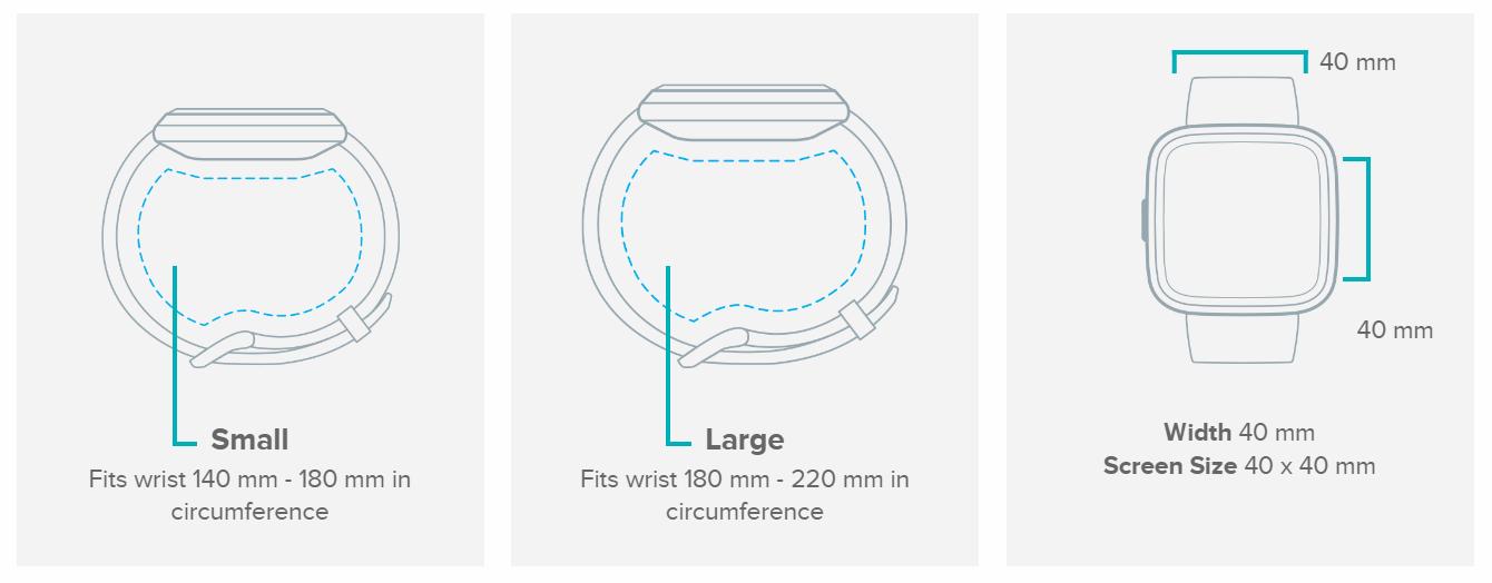 Fitbit: Versa 2 - Black/Carbon image