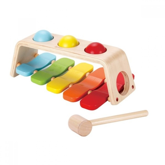 Classic World 2-in-1 Pound & Tap Bench Activity Toy
