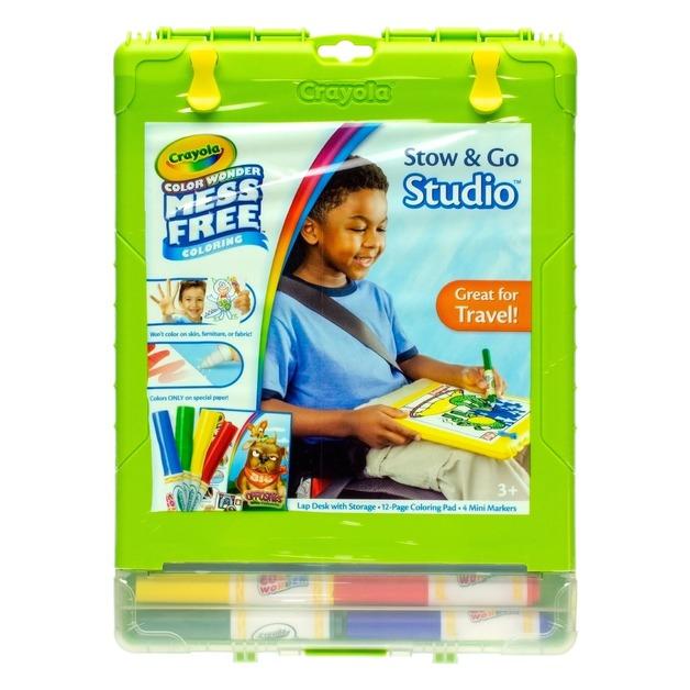 Crayola: Colour Wonder - Stow & Go Travel Kit