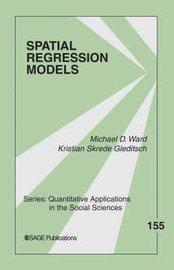 Spatial Regression Models by Michael D Ward image