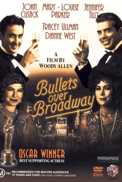 Bullets Over Broadway on DVD image
