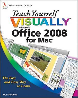 Teach Yourself Visually Office 2008 for Mac by Paul McFedries image