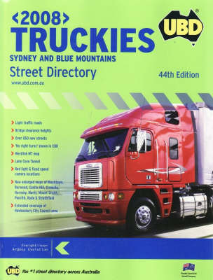 Truckies 2008: Sydney and Blue Mountains Street Directory
