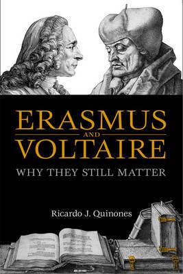 Erasmus and Voltaire by Ricardo J. Quinones