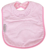 Silly Billyz Towel Large Bib (Pale Pink)