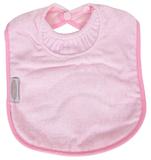 Silly Billyz Towel Large Bib (Pale Pink)