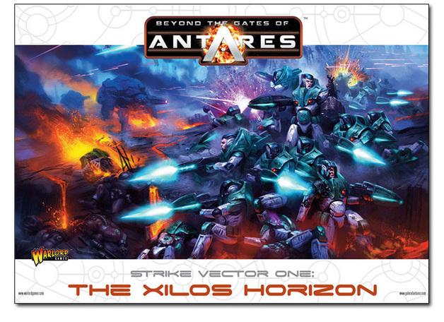 Beyond the Gates of Antares: The Xilos Horizon Starter Set