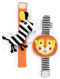 Mamas & Papas: Safari Wrist Rattle