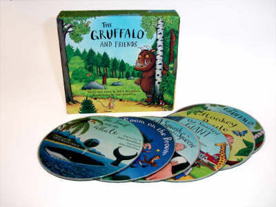 The Gruffalo and Friends CD Boxed Set by Julia Donaldson