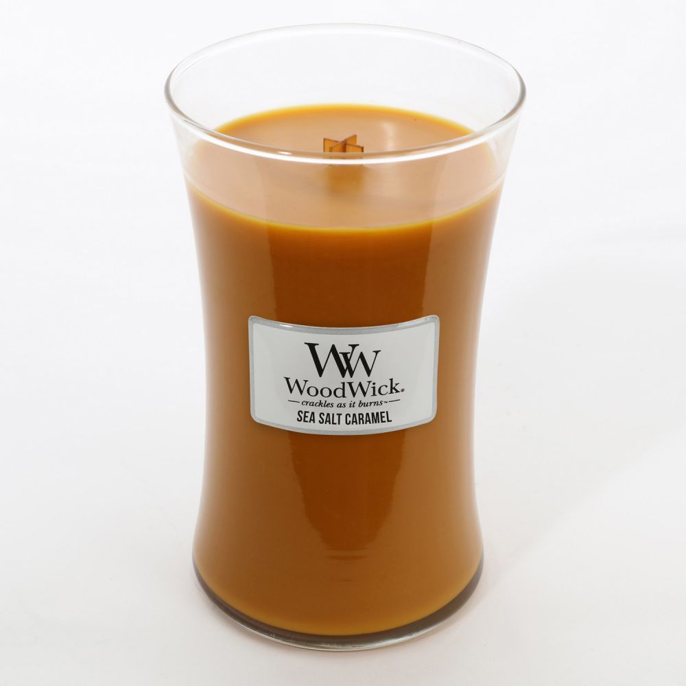 Woodwick Candle - Sea Salt Caramel (Large) image