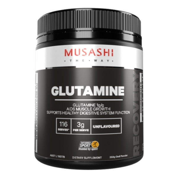 Musashi 100% Glutamine (350g)
