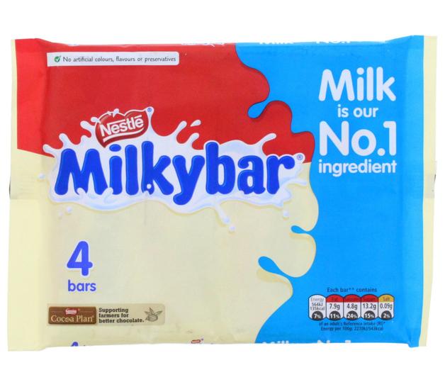 Milkybar - 4pk (4x25g)