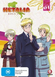 Hetalia World Series - Season 4 Collection on DVD
