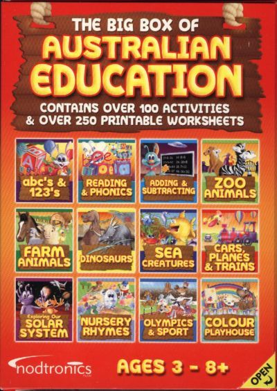 Eureka Big Box of Australian Education for PC Games