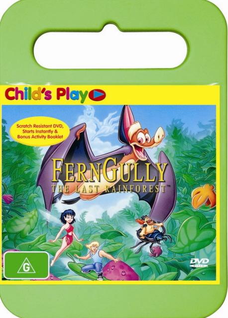 FernGully - The Last Rainforest on DVD