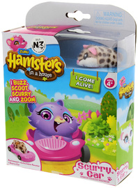 Hamsters in a House Scurry Car - Peanut