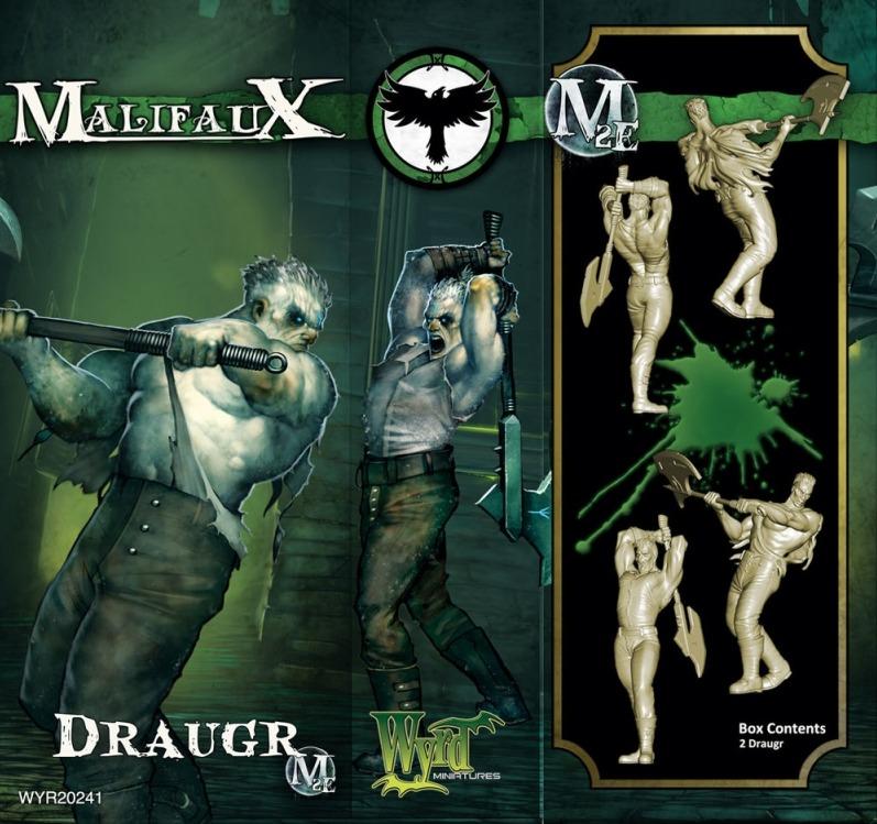 Malifaux: Resurrectionists - Draugr (2pc) image
