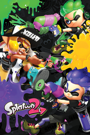 Splatoon 2: 3 Way Battle A - Maxi Poster (675)