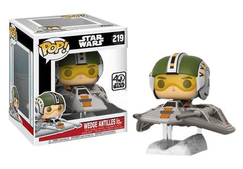Star Wars - Wedge Antilles & Snowspeeder Pop! Deluxe Figure image