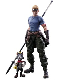 Final Fantasy: Cid Highwing & Cait Sith - Play Arts Kai Figure