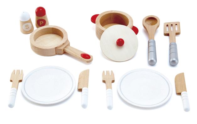 Hape: Cook & Serve Set