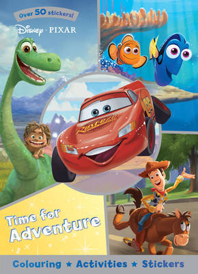 Disney Pixar Time for Adventure by Parragon Books Ltd image