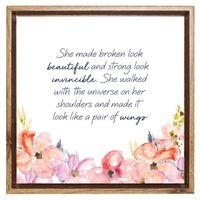 Empowerment Framed Canvas - Strength