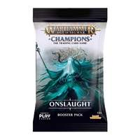 Warhammer TCG Age of Sigmar Champions Onslaught Single Booster
