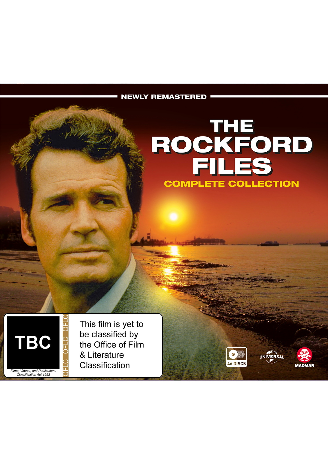 The Rockford Files Complete Box Set on DVD image