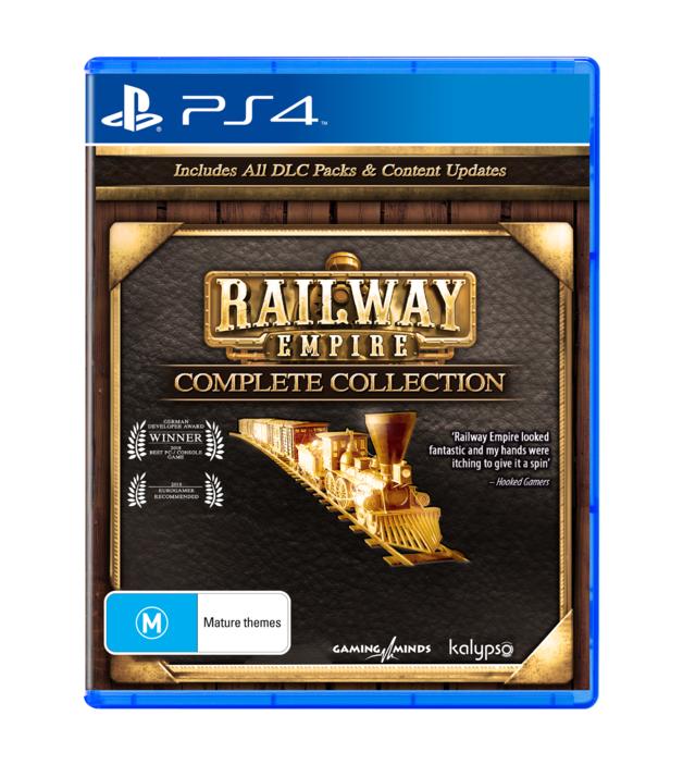Railway Empire Complete Collection for PS4
