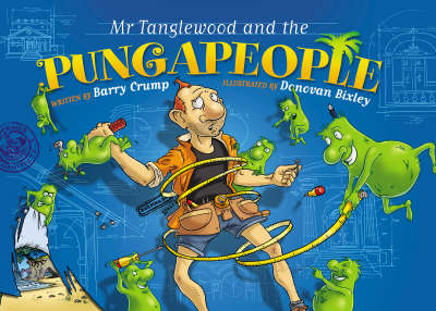 Mr Tanglewood and the Pungapeople by Barry Crump image