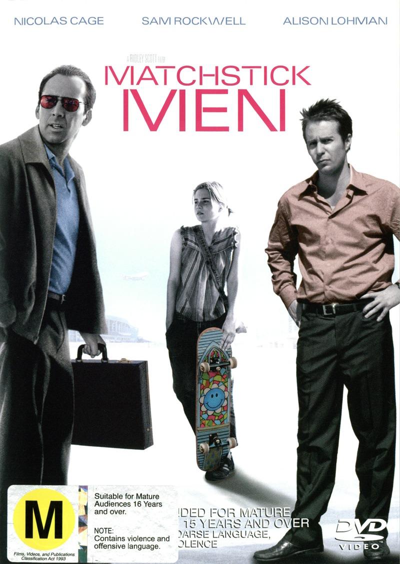 Matchstick Men on DVD image